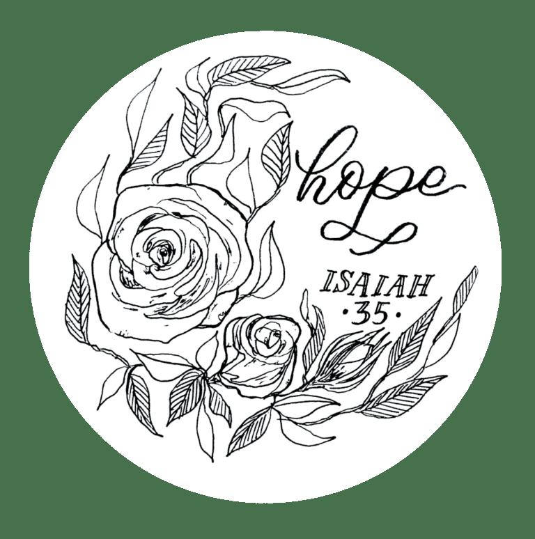 Hope - Isaiah 35 Bible Study